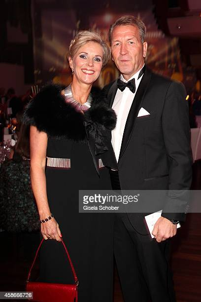 Andreas Koepke and his wife Birgit during the 33. Deutscher Sportpresseball - German Sports Media Ball 2014 at Alte Oper on November 08, 2014 in...