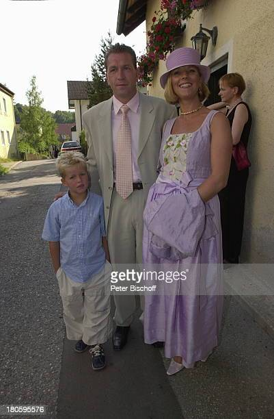 Andreas Köpke Ehefrau Birgit Köpke Sohn Pascal Köpke Hochzeit Sportreporter Waldemar Hartmann mit Petra Pöllmann Starnberg StJosefKirche Ankunft...