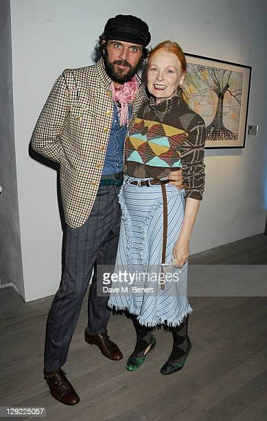 Andreas Kronthaler and Dame Vivienne Westwood attend 'Arts For Human Rights' the inaugural Bianca Jagger Human Rights Foundation Gala supported by...