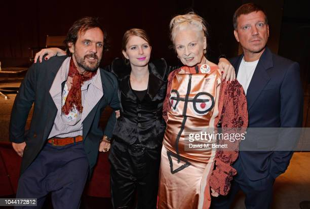 Andreas Kronthaler, Chelsea Manning, Dame Vivienne Westwood and Stefan Kalmar attend attends the annual Friends Of The Institute of Contemporary Arts...