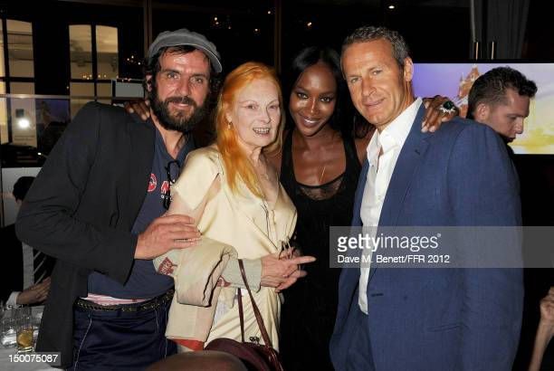 Andreas Kronthaler Dame Vivienne Westwood Naomi Campbell and Vladislav Doronin attend as Naomi Campbell hosts an Olympic Celebration Dinner in...