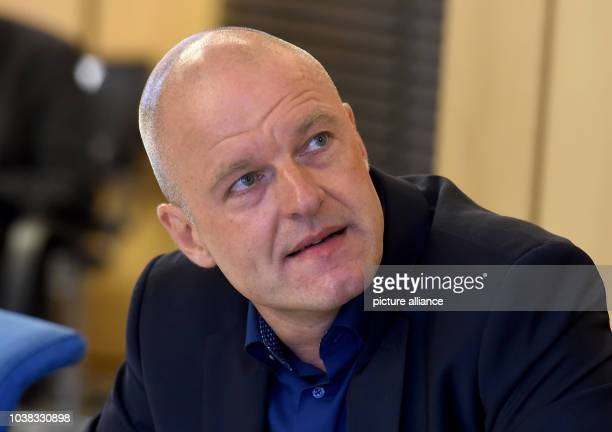 Andreas Kuehn head of the central agency for politically motivated crime committed by foreigners/Islamism of the state criminal police agency of...