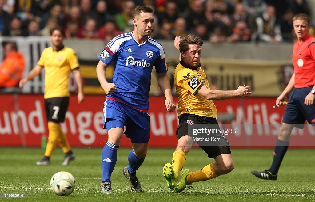 Dynamo Dresden v Holstein Kiel  - 3. Liga : News Photo