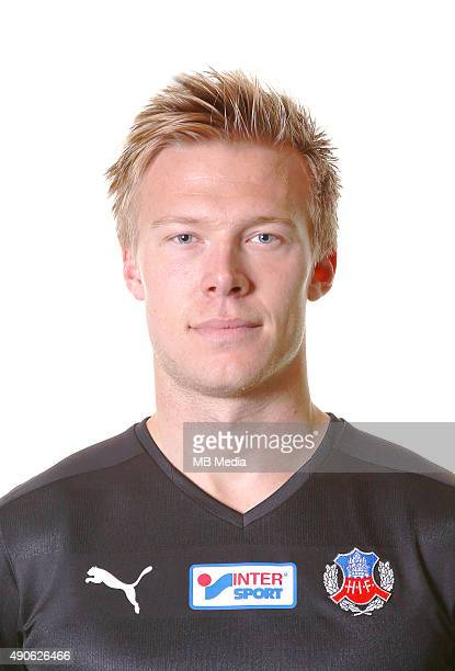 Andreas Landgren of Helsingborgs IF poses during a portrait session on March 11 2015 in HelsingborgSweden