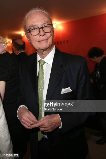 Andreas Langenscheidt Publisher at the opera premiere of Die tote Stadt by Erich Wolfgang Korngold at Bayerische Staatsoper on November 18 2019 in...