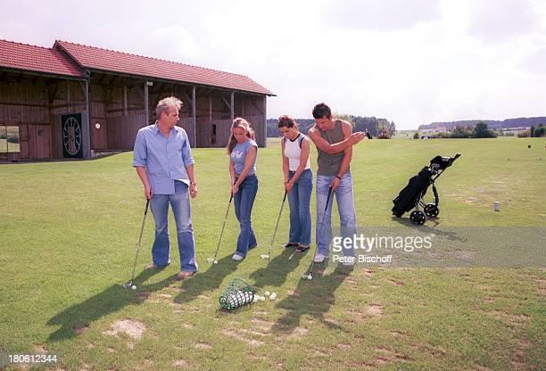 Andreas Lebbing Iris Criens Natasja Marinkovik Albert Oberloher Musikgruppe Wind Bad Abbach Golf Golfschläger GolfballPNR794/2002