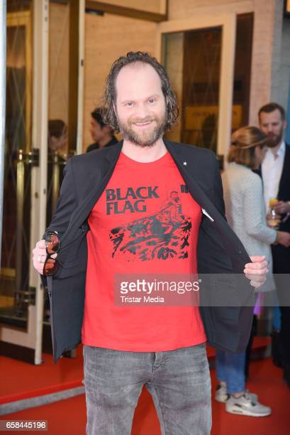 Andreas Leopold Schadt attends the photo call for the television film 'Nackt Das Netz vergisst nie' at Astor Film Lounge on March 27 2017 in Berlin...