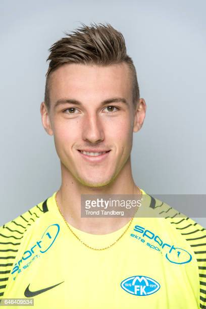 Andreas Linde of Team Molde FK Photocall on February 21 2017 in Molde Norway