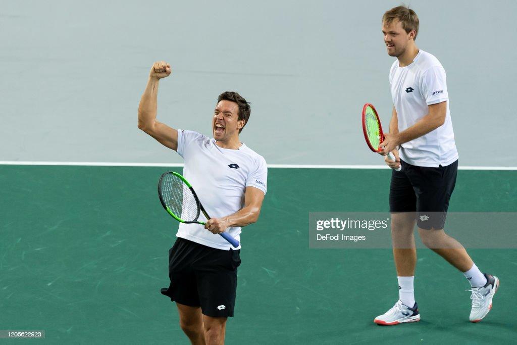 Germany v Belarus - Davis Cup Qualifier Day 2 : ニュース写真