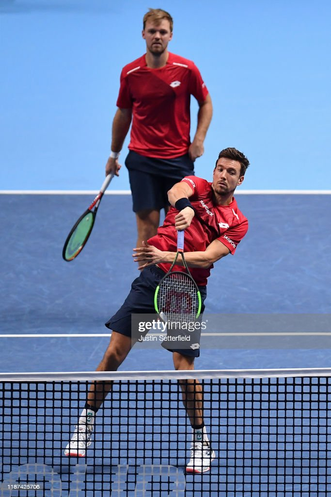Nitto ATP Finals - Day Four : ニュース写真