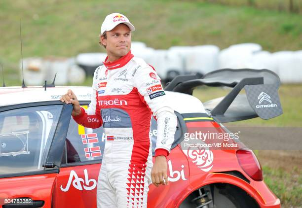 Andreas Mikkelsen NOR Anders Jaeger NOR Citroen Total Abu Dhabi WRT during the WRC Orlen 74 Rally Poland on June 29 2017 in Mikolajki Poland