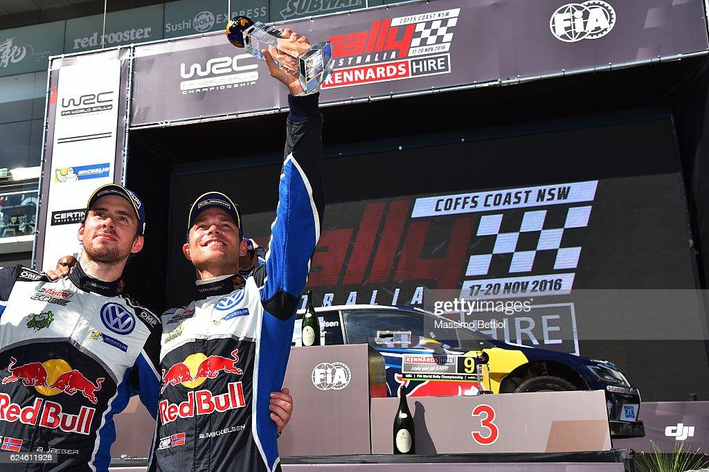 FIA World Rally Championship Australia - Day Three : News Photo