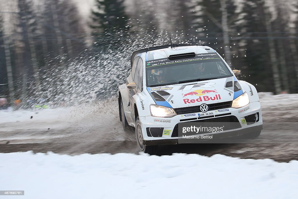 FIA World Rally Championship Sweden - Day Three : Nyhetsfoto