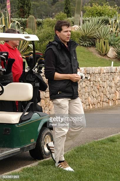 Premiere Golf Trophy Port d Andratx/Mallorca/Spanien Golfplatz Sport Golfwagen Schläger Golf Grün Rasen ExFußballer ExFußballprofi Promi Promis...