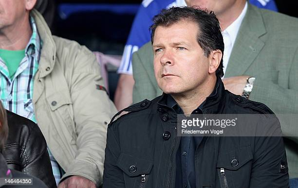 Andreas Moeller of Bayern looks on during the A Juniors Bundesliga final match between FC Schalke 04 and Bayern Muenchen at Stimberg Stadion on June...