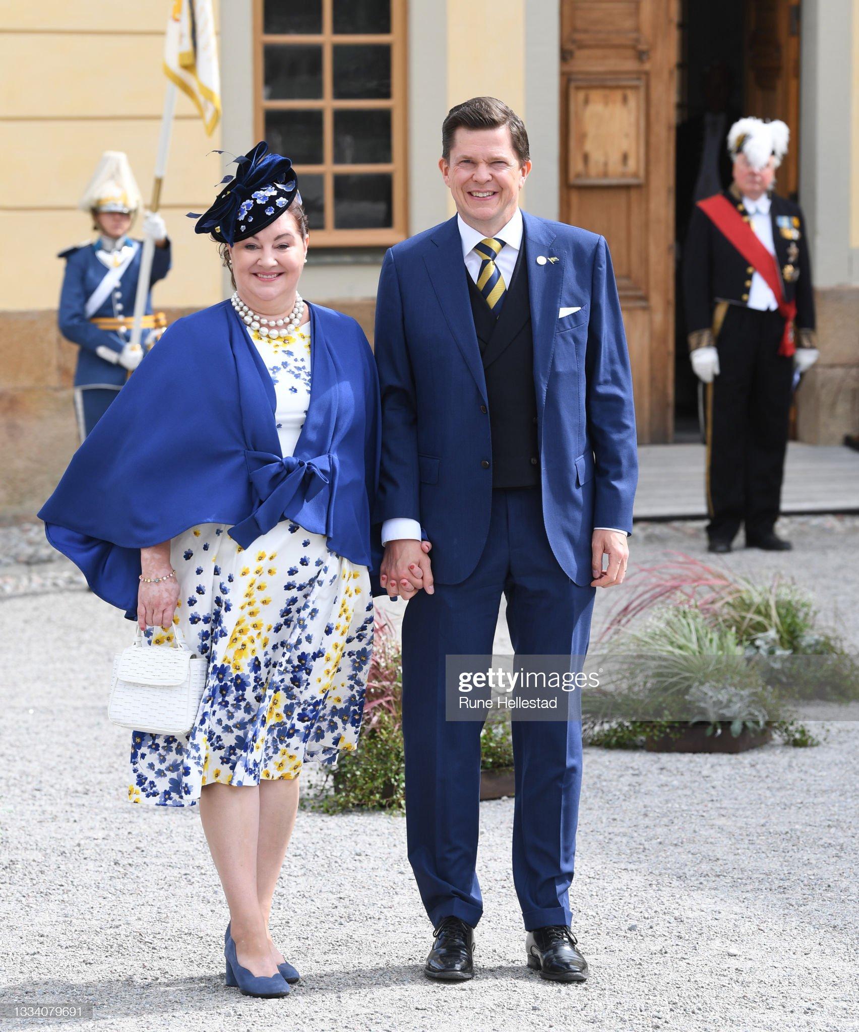 Prince Julian's Baptism In Stockholm : News Photo