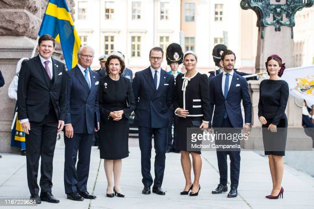 Andreas Norlen King Carl XVI Gustaf of Sweden Queen Silvia of Sweden Prince Daniel of Sweden Crown Princess Victoria of Sweden Prince Carl Philip of...