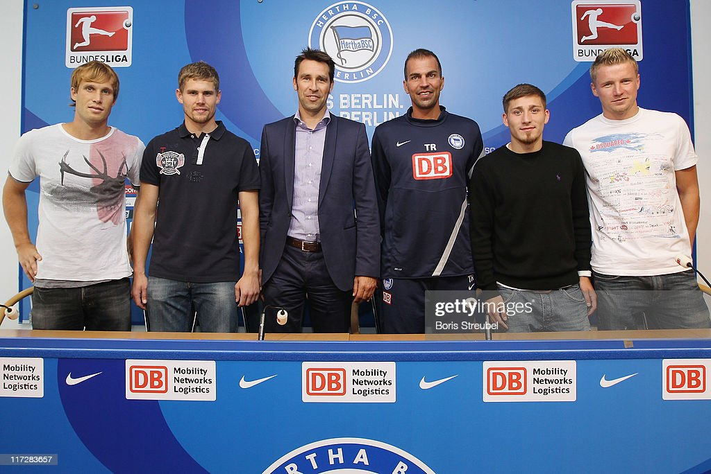 Hertha BSC Berlin - Training & Press Conference