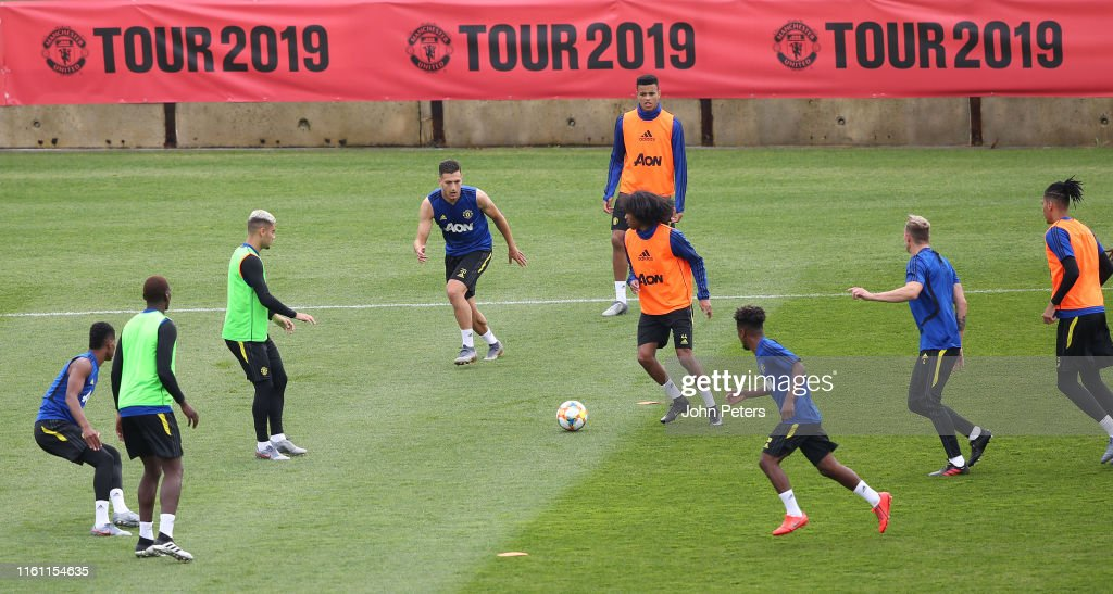 Manchester United Pre-Season Tour - Day 3 : News Photo