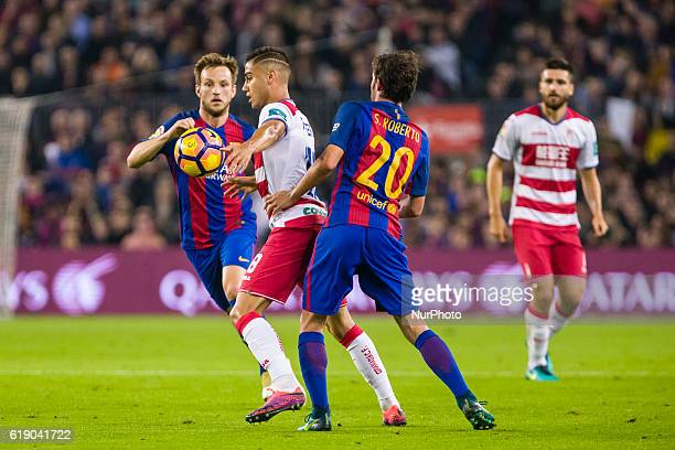 Andreas Pereira during the match between FC Barcelona vs Granada CF for the round 10 of the Liga Santander played at Camp Nou Stadium on 29th Oct...