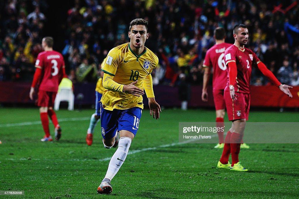 Brazil v Serbia: Final - FIFA U-20 World Cup New Zealand 2015 : News Photo