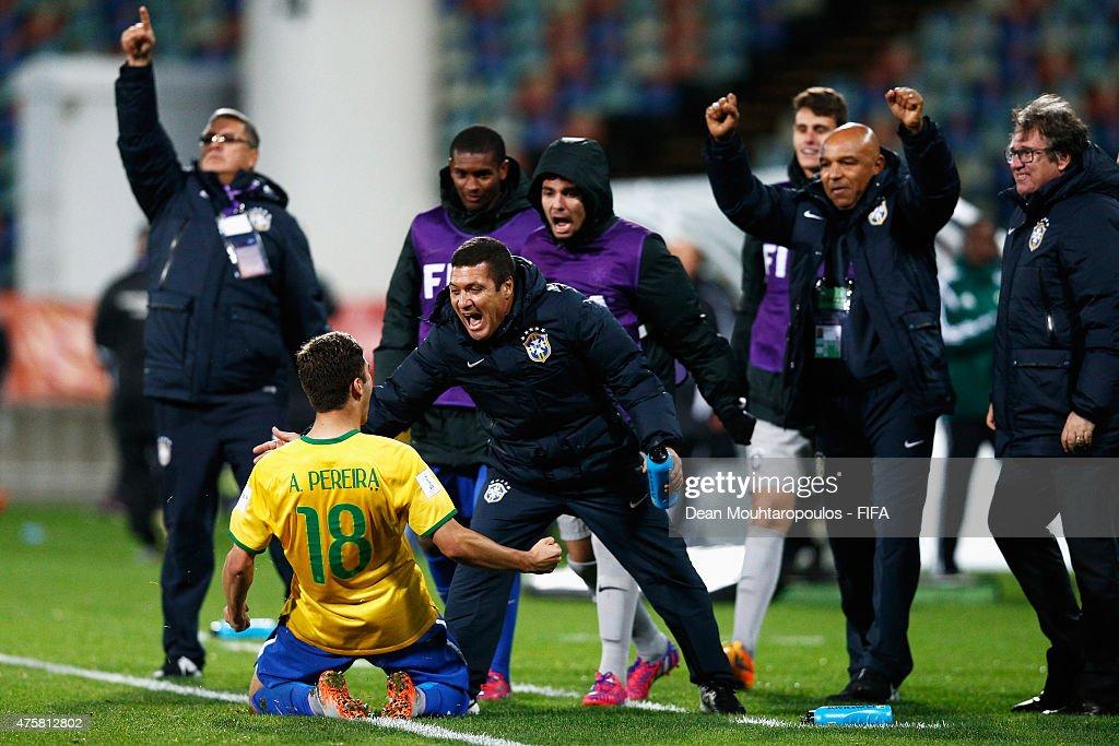 Hungary v Brazil: Group E - FIFA U-20 World Cup New Zealand 2015 : News Photo