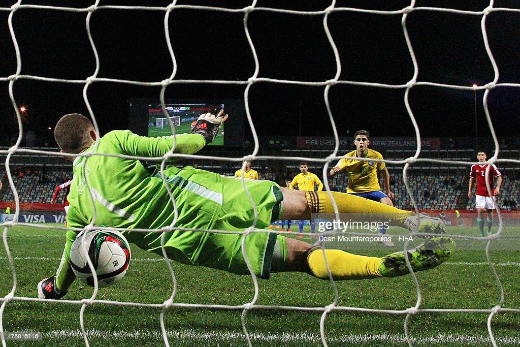 Hungary v Brazil: Group E - FIFA U-20 World Cup New Zealand 2015 : Nachrichtenfoto