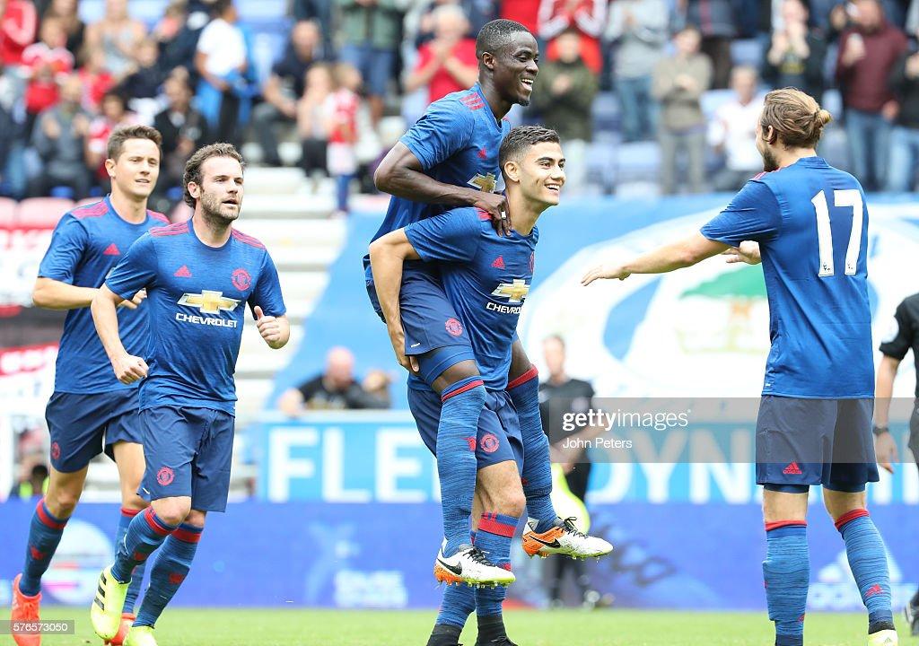 Wigan Athletic v Manchester United - Pre-Season Friendly : News Photo
