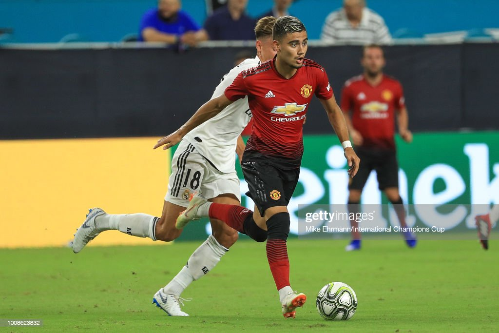 Manchester United v Real Madrid - International Champions Cup 2018 : News Photo