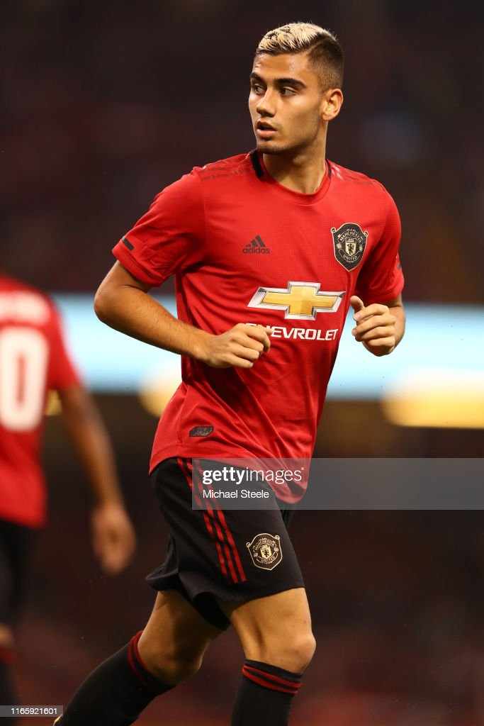 Manchester United International Champions Cup 2020.Andreas Pereira Of Manchester United During The 2019