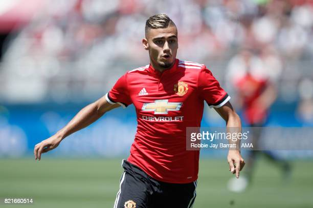 Andreas Pereira of Manchester United during the International Champions Cup 2017 match between Real Madrid v Manchester United at Levi'a Stadium on...
