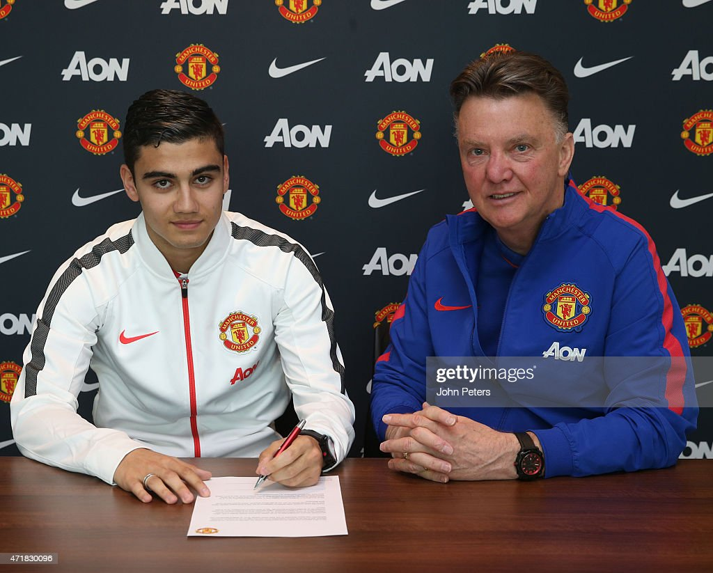 Andreas Pereira  Signs Contract Extension : News Photo