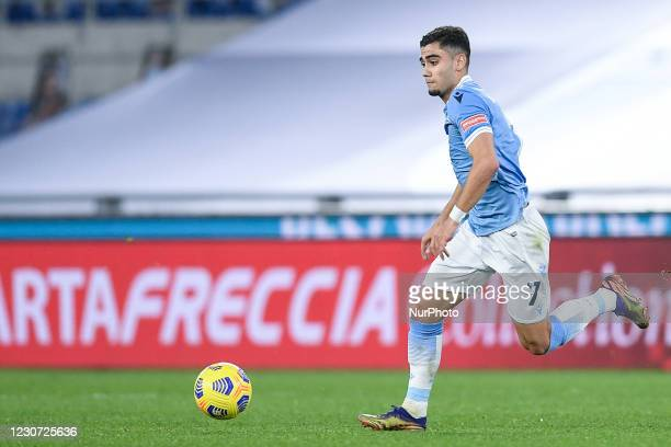 Andreas Pereira of SS Lazio during the Coppa Italia match between SS Lazio and Parma Calcio 1913 at Stadio Olimpico, Rome, Italy on 21 January 2021.