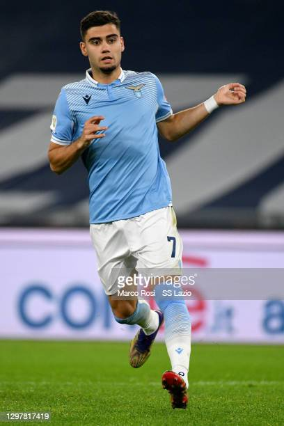 Andreas Pereira of SS Lazio during the Coppa Italia match between SS Lazio and Parma Calcio at Olimpico Stadium on January 21, 2021 in Rome, Italy....
