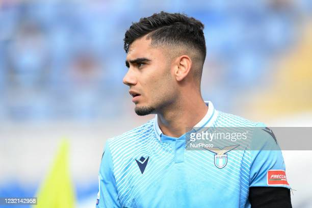 Andreas Pereira of SS Lazio looks on during the Serie A match between SS Lazio and Spezia Calcio at Stadio Olimpico, Rome, Italy on 3 April 2021.