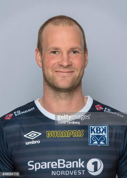 Andreas Roesand of Team Kristiansund BK on March 7 2017 in Kristiansund Norway