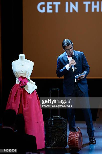Andreas Rumbler attends the dinner at the 'Love Ball' hosted by Natalia Vodianova in support of The Naked Heart Foundation at Opera Garnier on July...