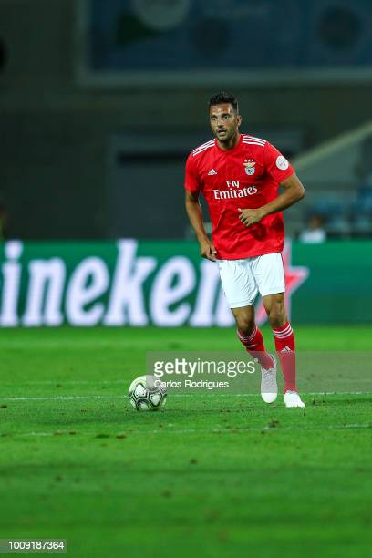 Andreas Samaris from SL Benfica during the match between SL Benfica v Lyon for the International Champions Cup Eusebio Cup 2018 at Estadio do Algarve...