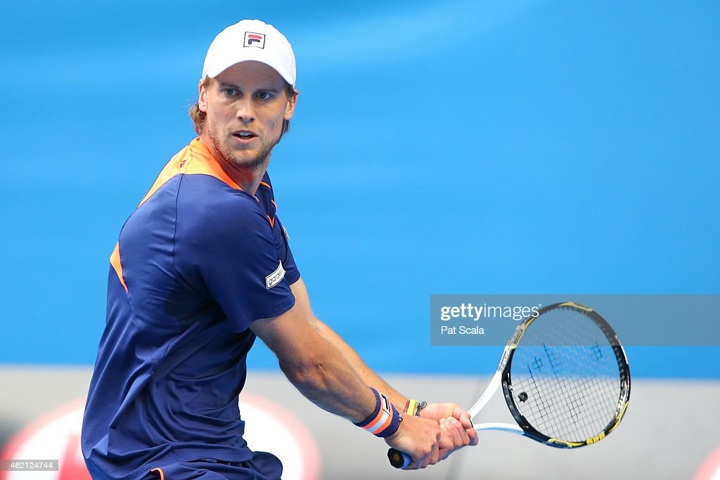 2015 Australian Open - Day 7 : News Photo