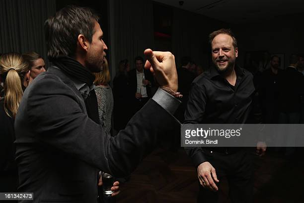 Andreas Tuerck and Smudo attend the Gala Star Night during the 63rd Berlinale International Film Festival at the Stue Hotel on February 9 2013 in...