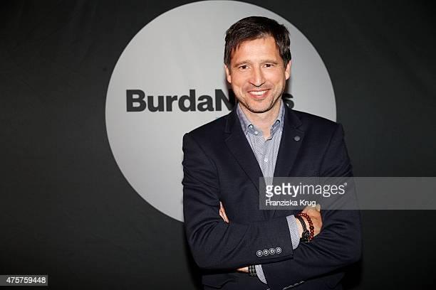 Andreas Tuerck attends the BurdaNews Night on June 03 2015 in Hamburg Germany
