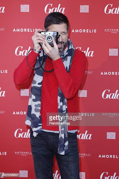 Andreas Tuerck attends the 'Gala' fashion brunch during the MercedesBenz Fashion Week Berlin A/W 2017 at Ellington Hotel on January 19 2017 in Berlin...