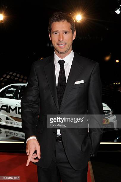 Andreas Tuerck attends the GQ Men Of The Year 2010 award ceremony at Komische Oper on October 29 2010 in Berlin Germany