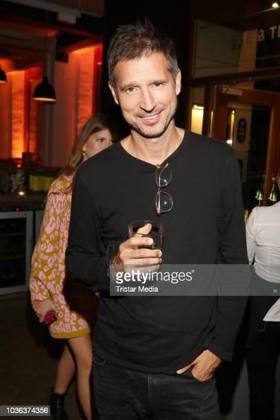 Andreas Tuerck attends the premiere of the film 'Klassentreffen 10 Die unglaubliche Reise der Silberruecken' at Cinemaxx on September 19 2018 in...