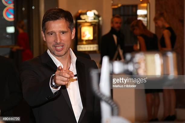 Andreas Tuerck attends the SKY 007 HD event at Hotel Atlantic on September 28 2015 in Hamburg Germany