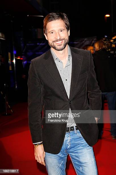 Andreas Tuerck attends the 'Sra Bua By Tim Raue' Restaurant Opening on April 11 2013 in Berlin Germany