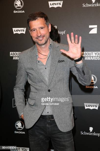 Andreas Tuerck during the 2nd ABOUT YOU Awards 2018 at Bavaria Studios on May 3 2018 in Munich Germany