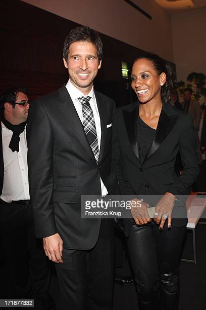 Andreas Tuerk And Barbara Becker In The Vodafone Night At Hotel De Rome In Berlin