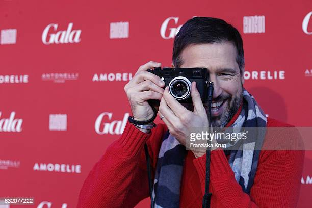 Andreas Tuerk attends the 'Gala' fashion brunch during the MercedesBenz Fashion Week Berlin A/W 2017 at Ellington Hotel on January 19 2017 in Berlin...