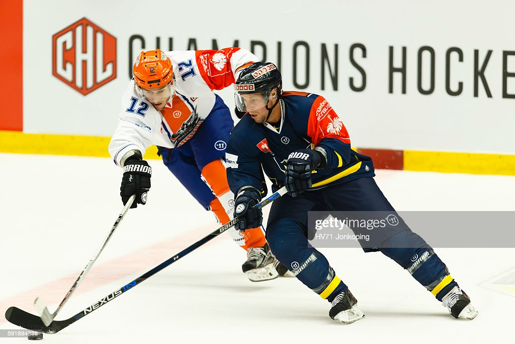 HV71 Jonkoping v Sheffield Steelers - Champions Hockey League